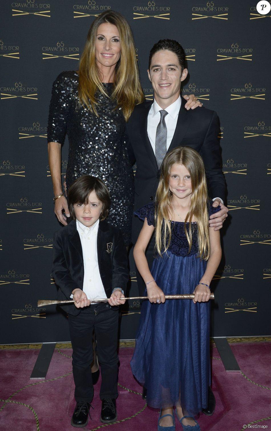 Sophie thalmann son mari christophe soumillon et leur enfants charlie et mika la 65 me - Sophie jovillard et son mari ...
