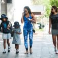 Exclusif - Melanie Brown (Mel B) avec ses filles Angel Iris Murphy Brown et Madison Belafonte à Double Bay à Sydney le 15 novembre 2016
