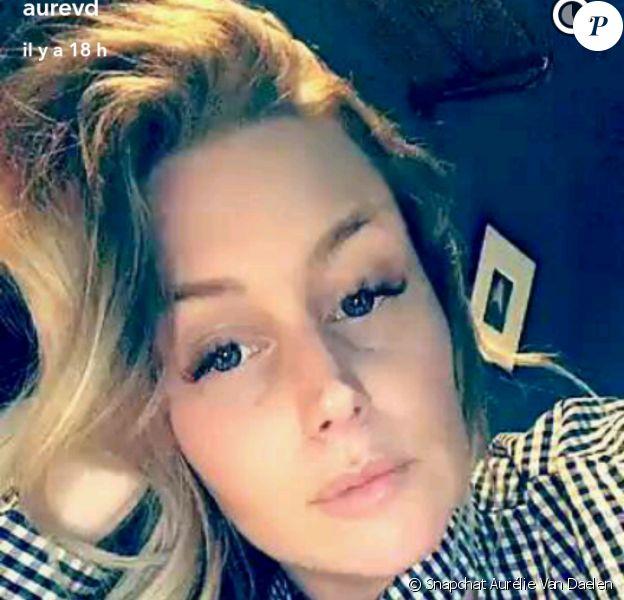 Aurélie Van Daelen - Snapchat, 23 mars 2017
