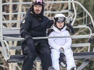 David Beckham : Papa super fier de sa fille Harper