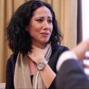 Fabienne Carat émue aux larmes en évoquant la mort de son grand-père...