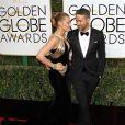 Blake Lively et son mari Ryan Reynolds - La 74ème cérémonie annuelle des Golden Globe Awards à Beverly Hills, le 8 janvier 2017.