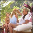 Dolph Lundgren et sa petite famille