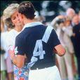 La princesse Diana et le prince Charles en 1985 lors d'un tournoi de polo.
