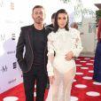 Mert Alas et Kim Kardashian à l'évènement des Fashion Los Angeles Awards, organisée le 2 avril 2017.
