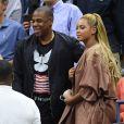 Beyoncé et son mari Jay Z à l'US Open 2016 au USTA Billie Jean King National Tennis Center. New York, le 1er septembre 2016.