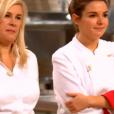 """Giacinta et sa chef Hélène Darroze - """"Top Chef 2017"""" sur M6, le 5 avril 2017."""