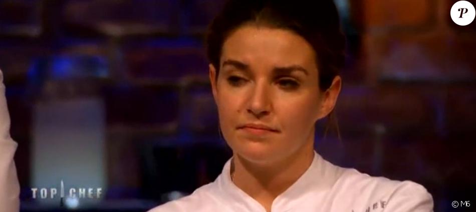 """Giacinta est éliminée - """"Top Chef 2017"""" sur M6, le 5 avril 2017."""