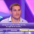 """Timothée dans """"Les 12 Coups de midi"""", le 3 avril 2017 sur TF1."""