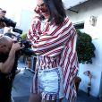 Kendall Jenner est allée déjeuner au restaurant Cuvee à West Hollywood, le 30 mars 2017