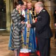 """Kate Catherine Middleton, duchesse de Cambridge - Service of hope, messe en l'honneur des victimes de l'attentat de Londres à l'abbaye de Westminster à Londres. Le 5 avril 2017"""