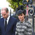 Le prince William, duc de Cambridge et Catherine Kate Middleton, duchesse de Cambridge à la messe Service of Hope, en l'honneur des victimes de l'attentat de Londres à l'abbaye de Westminster à Londres le 5 avril 2017.