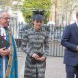 Catherine Kate Midleton, duchesse de Cambridge à la messe Service of Hope, en l'honneur des victimes de l'attentat de Londres à l'abbaye de Westminster à Londres le 5 avril 2017