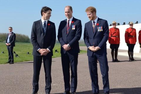 William et Harry : Duo royal et retrouvailles en France avec Justin Trudeau