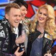 """Spencer Pratt, Jasmine Waltz et Heidi Montag lors du lancement de la saison 19 de l'émission télévisée """"Celebrity Big Brother"""" aux studios Elstree TV à Londres, Royaume Uni, le 3 janvier 2017."""