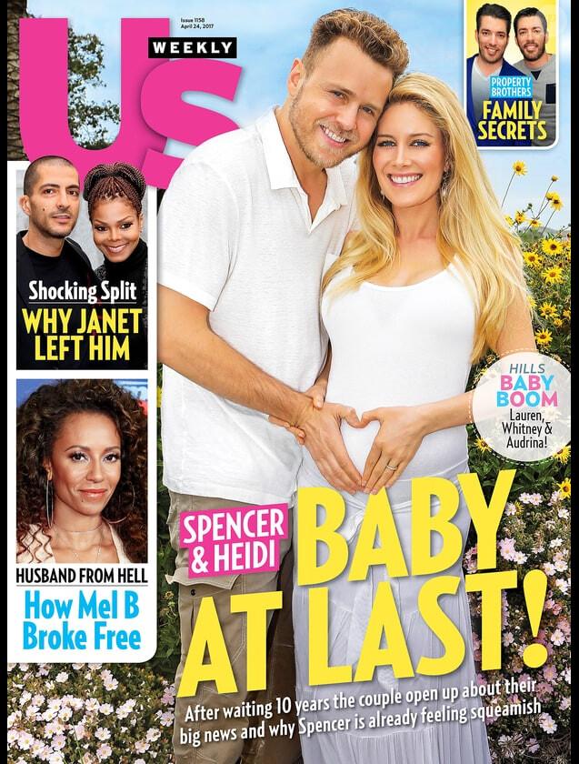 """Couverture du magazine """"Us Weekly"""", deuxième semaine d'avril 2017."""