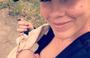 Pink : En plein sport, elle allaite son bébé !