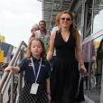 Geri Halliwell et sa fille Bluebell invitées au Grand prix de Formule 1 d'Espagne à Barcelone le 15 mai 2016.