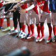 Les joueurs de l'AS Monaco ont fêté leur qualification pour les demi-finales de la Ligue des Champions après leur victoire le 19 avril 2017 contre le Borussia Dortmund au stade Louis-II. © Olivier Huitel/Pool/Bestimage