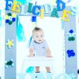 André-Pierre Gignac a posté sur Instagram cette photo pour le premier anniversaire de son fils Eden en septembre 2016.