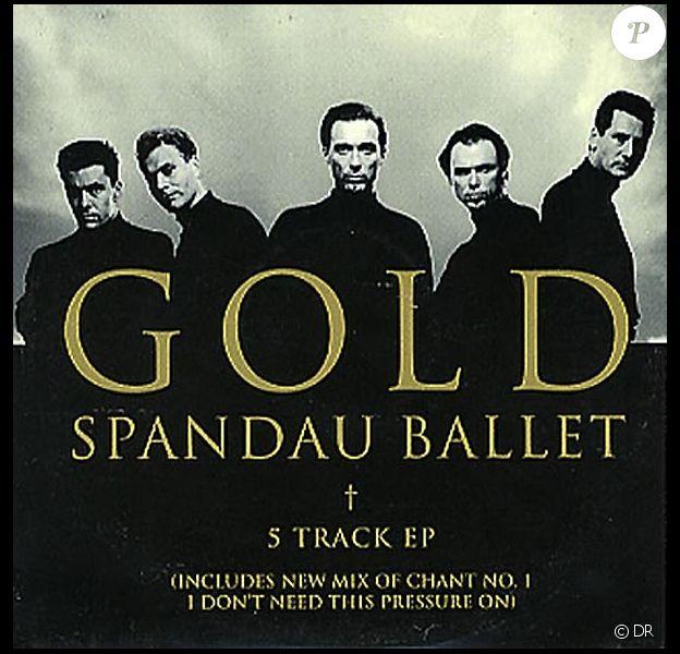 Le groupe anglais Spandau Ballet dans les années 80