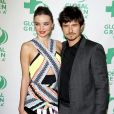 """Miranda Kerr et Orlando Bloom - People à la 10ème cérémonie annuelle pré-Oscar """"Global Green"""" à Hollywood, le 20 fevrier 2013."""