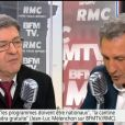 Jean-Luc Mélenchon évoque ses regrettés parents sur BFMTV, le 20 avril 2017