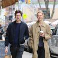 Karlie Kloss et Joshua Kushner dans les rues de New York le 26 mars 2017