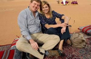Maxima et Willem-Alexander des Pays-Bas, découvrez leur périple dans le désert... et à dos de chameau !