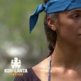 """Mathilde est l'ambassadeur des bleus - """"Koh-Lanta Cambodge"""", le 28 avril 2017 sur TF1."""