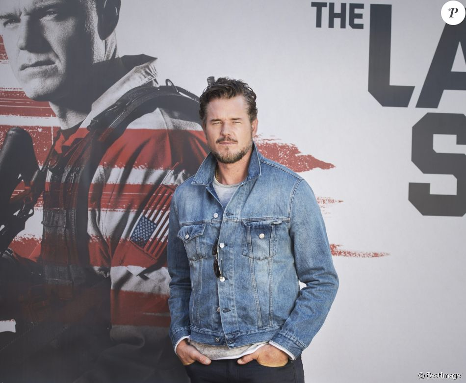 "Eric Dane en promotion pour la série ""The Last Ship"" à Stockholm. Le 16 septembre 2016"
