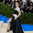 """Celine Dion - Les célébrités arrivent au MET 2017 Costume Institute Gala sur le thème de """"Rei Kawakubo/Comme des Garçons: Art Of The In-Between"""" à New York, le 1er mai 2017"""