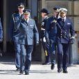 Le roi Carl Gustav et le prince Carl Philip de Suède - Célébration du 71ème anniversaire du roi Carl Gustav de Suède à Stockholm le 30 avril 2017 30/04/2017 - Stockholm