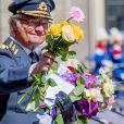 Le roi Carl Gustav de suède - Célébration du 71ème anniversaire du roi C. Gustav de Suède à Stockholm le 30 avril 2017 30/04/2017 - Stockholm