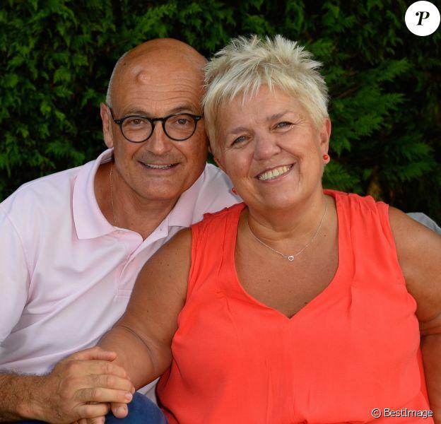 Benoist Gérard et sa femme Mimie Mathy au 9ème Festival du Film Francophone d'Angoulême - Jour 5, le 26 août 2016. © Coadic Guirec/Bestimage