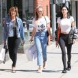 Lisa Rinna et ses filles Amelia Gray et Delilah Belle à Beverly Hills, le 2 mai 2017.