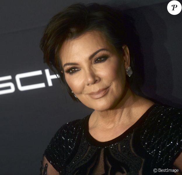"Kris Jenner lors du Gala 2016 ""Angel Ball hosted by Gabrielle's Angel Foundation for Cancer Research"", qui honore, entre autres, Robert Kardashian, à New York, le 21 novembre 2016. © Future-Image via ZUMA Press/Bestimage"