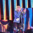 Lady Gaga en concert à Coachella à Palm Springs, le 16 avril 2017