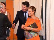Christian Estrosi et Laura Tenoudji, enceinte : Couple radieux, rondeurs flashy