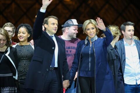 """Emmanuel Macron président : Un """"mec à la casquette"""" intrigue... Qui est-ce ?"""
