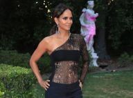 Halle Berry : Body transparent et pantalon totalement fendu, une bombe à 50 ans