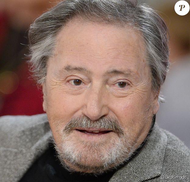 """Victor Lanoux - Enregistrement de l'émission """"Vivement Dimanche"""" en novembre 2014"""