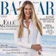 Elle Macpherson en couverture du magazine Harper's BAZAAR Australia. Juin/juillet 2015.