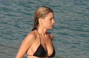 EXCLU : Marisa Miller... une magnifique naïade qui vous emmène vous baigner à Saint-Barth ! Whaou !