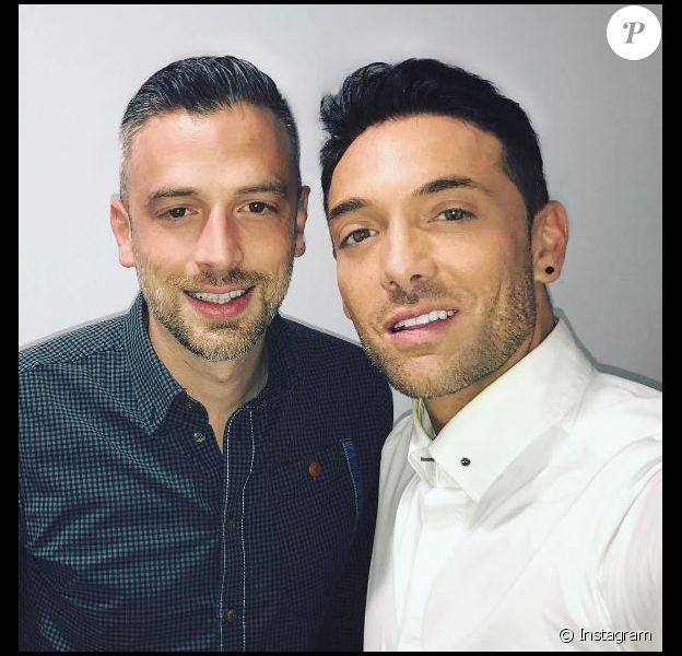 Maxime Dereymez et son frère, instagram, le 10 mai 2017
