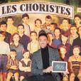 Exclusif - Maxime Dereymez à la générale du spectacle musical Les Choristes au théâtre des Folies Bergère à Paris, France, le 2 mars 2017. © Gorassini-Moreau/Bestimage