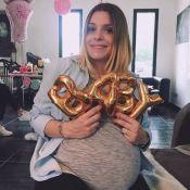 Alexia (Secret Story 7) au bord de l'accouchement : Son ventre plat lui manque !