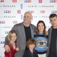 Harlan Coben, Virginie Ledoyen and Thierry Neuvic attending the Juste Un Regard Photocall at the Gaumont Marignan Cinema in Paris, France on May 11, 2017. Photo by Aurore Marechal/ABACAPRESS.COM12/05/2017 - Paris