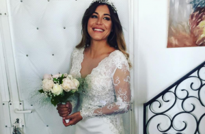 Anaïs Camizuli (Secret Story 7) : Surprise, elle s'est mariée... découvrez sa robe