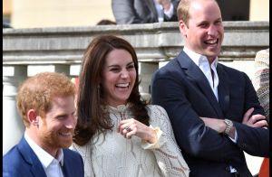 Kate Middleton, William et Harry : Fous rires complices pour un événement festif